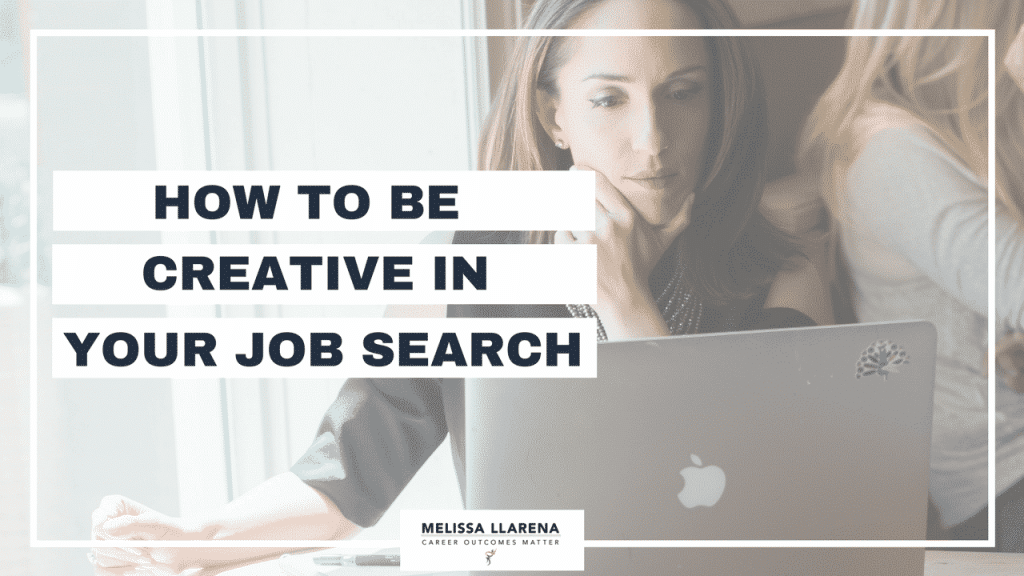 How to be creative in your job search [Facebook LIVE episode #8 on Standing Out]