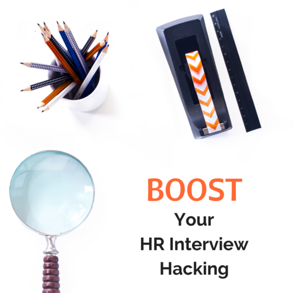 How to make HR look great and get the job [Facebook LIVE